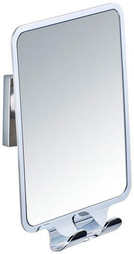 WENKO Badspiegel »Vacuum-Loc Quadro«, Befestigen ohne bohren