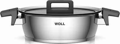 WOLL Bratentopf »Concept«, Edelstahl 18/10, (1-tlg), Induktion