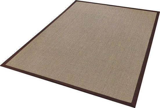 Sisalteppich »Brasil«, Dekowe, rechteckig, Höhe 6 mm, Flachgewebe, Obermaterial: 100% Sisal