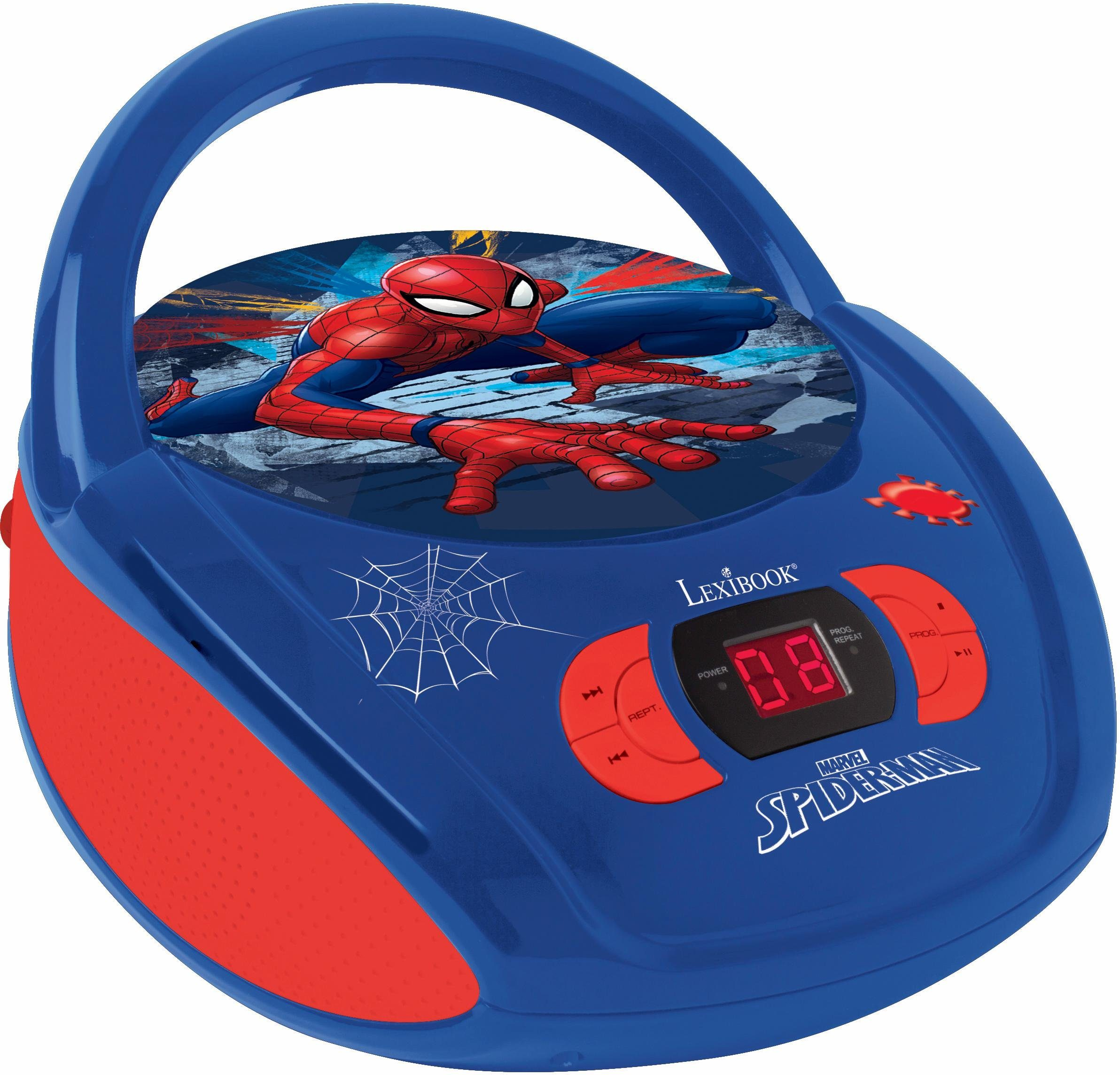Lexibook CD Player mit Radio, »Ultimate Spider Man«