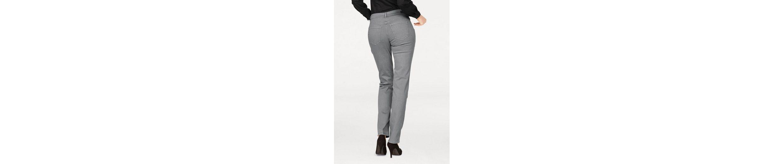 MAC Stretch-Jeans Angela Pearl, Mit Perlenbesatz vorne und hinten