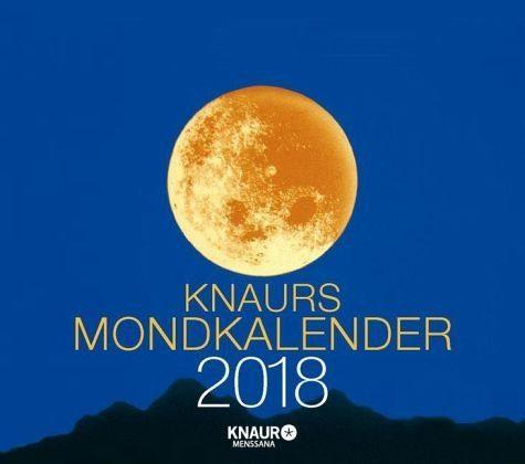 Kalender »Knaurs Mondkalender 2018 Abreißkalender«