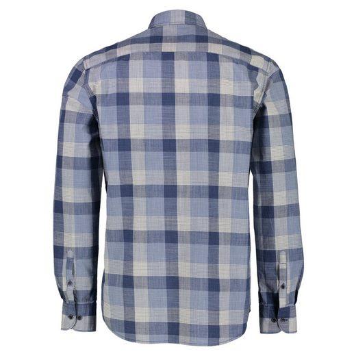 LERROS Hemd mit gewebtem Karo