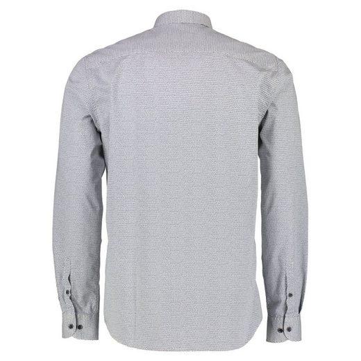 LERROS Langarmhemd mit Minimal-Alloverprint
