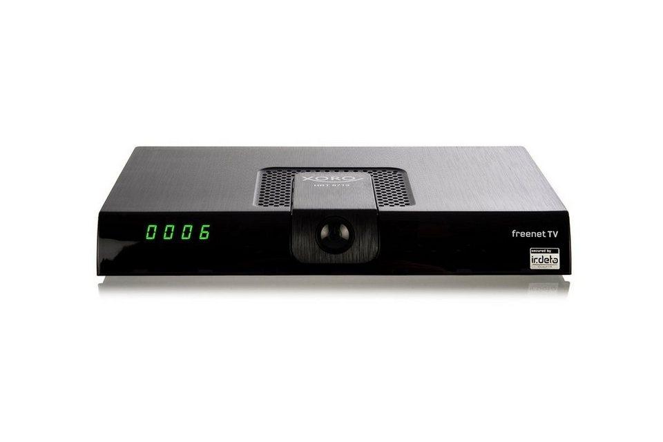 xoro dvb t2 receiver freenet tv hrt 8719 kaufen otto. Black Bedroom Furniture Sets. Home Design Ideas