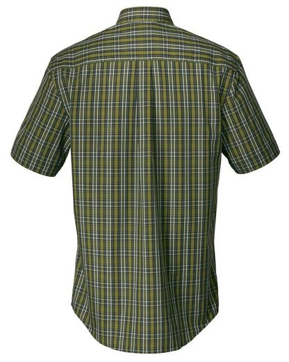 Forest And Forestry Checked Shirt, Short Sleeves
