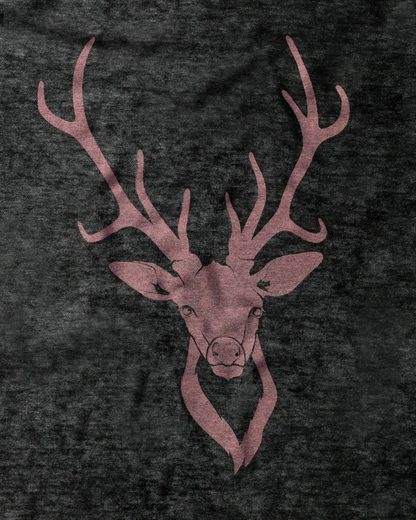Reitmayer T-Shirt mit Hirschprint