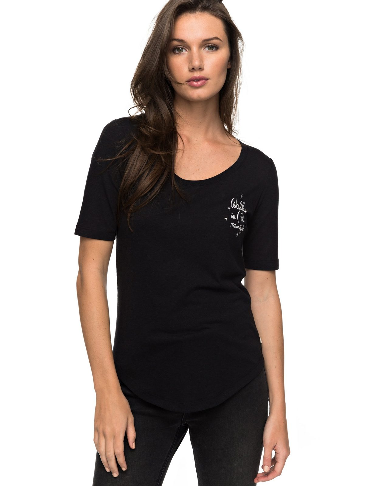 Roxy T-Shirt »Boogie Board Lace Up« - broschei
