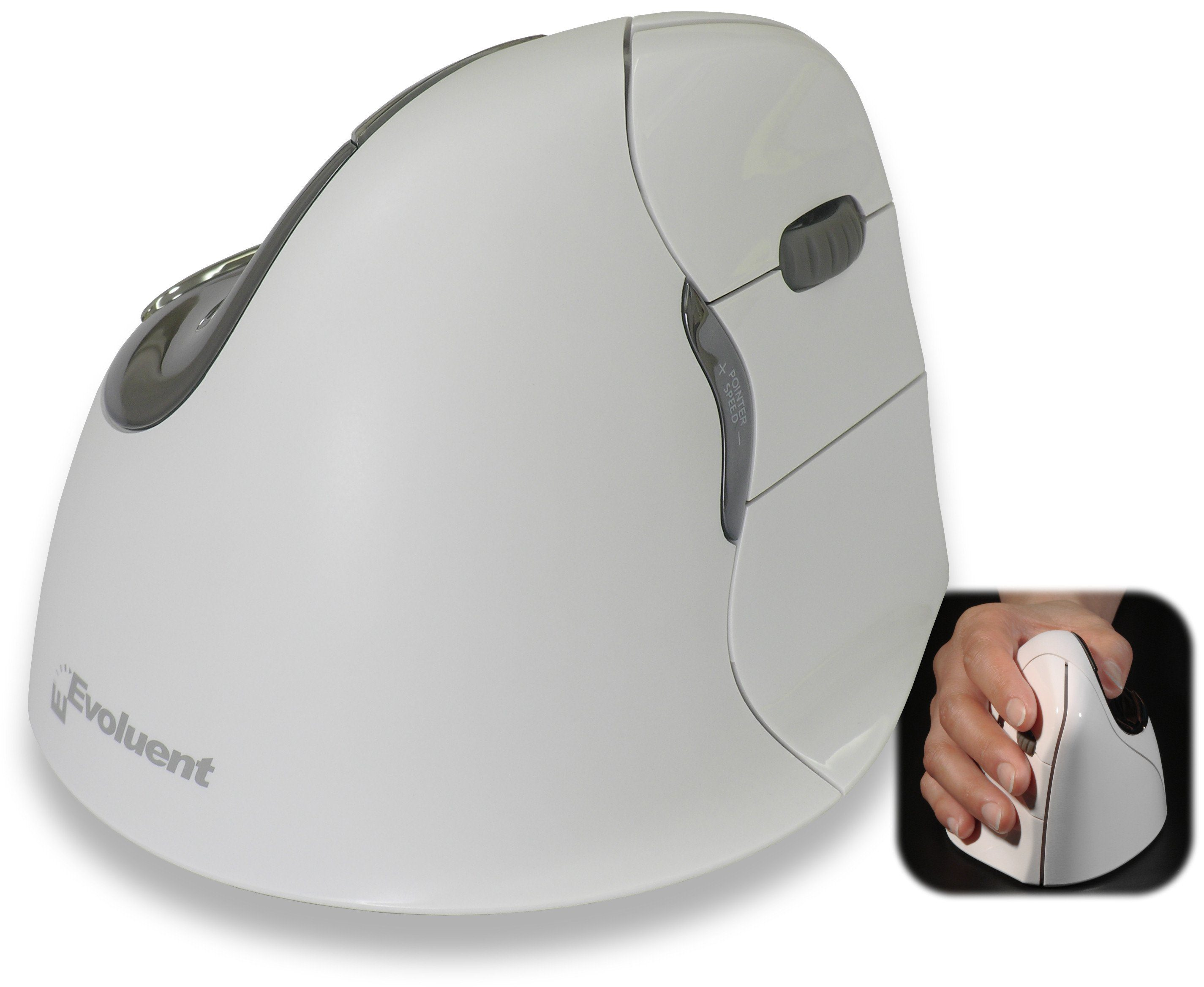 EVOLUENT Peripherie-Gerät »Vertical Mouse 4 Bluetooth Rechte Hand«