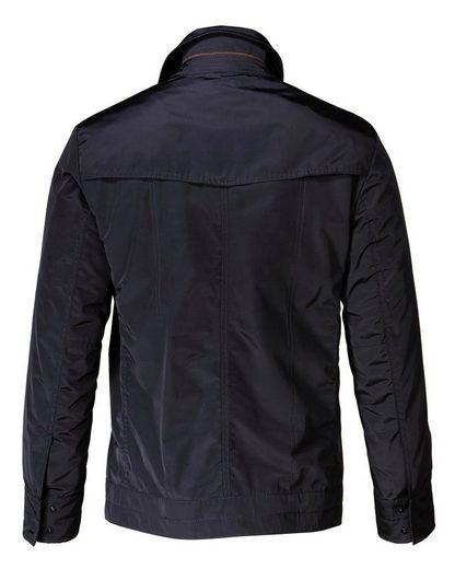 B. von Schönfels Jacke mit Lederbesätzen