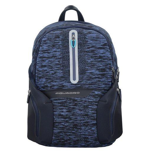 Piquadro Coleos Backpack 43 Cm Compartment