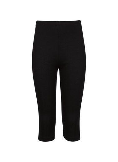 Trigema Capri-Leggings aus Baumwolle/Elastan