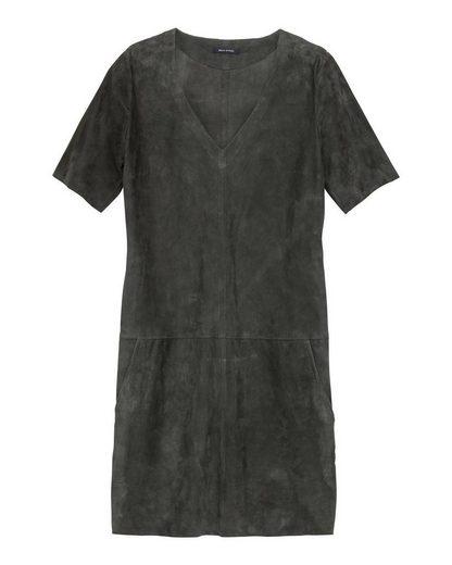 Marc O'Polo Veloursleder-Kleid