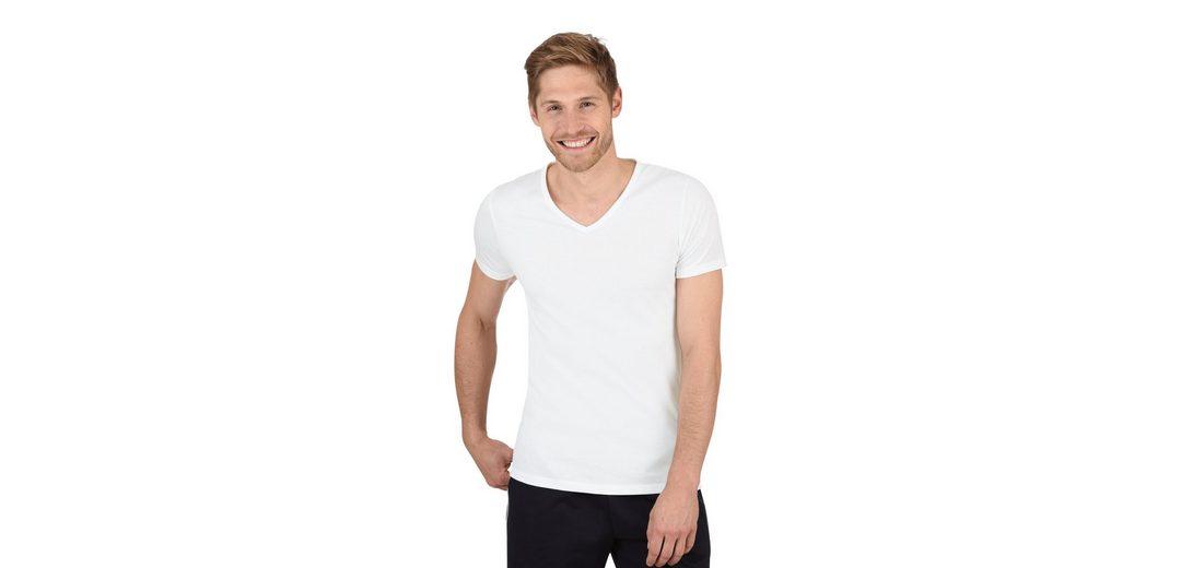 TRIGEMA V-Shirt Slim Fit Günstig Kaufen Echt QA5dFq7cAU