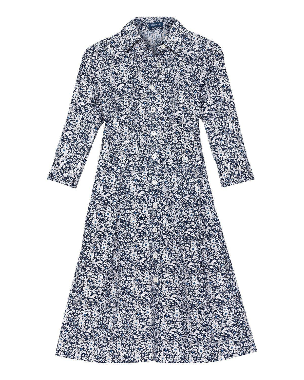 Highmoor Hemdblusenkleid - broschei
