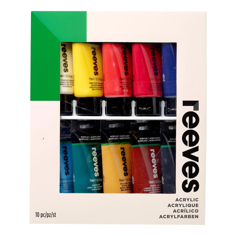 reeves Acrylfarbe Reeves, Einsteiger-Set