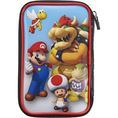 bigben nintendo 3ds xl tasche mario bowser otto. Black Bedroom Furniture Sets. Home Design Ideas
