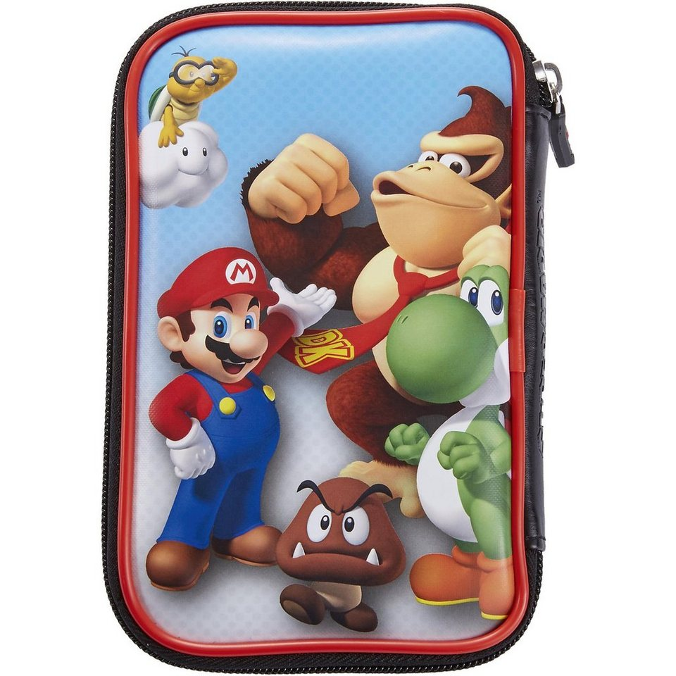 bigben nintendo 3ds xl tasche mario donkey kong otto. Black Bedroom Furniture Sets. Home Design Ideas