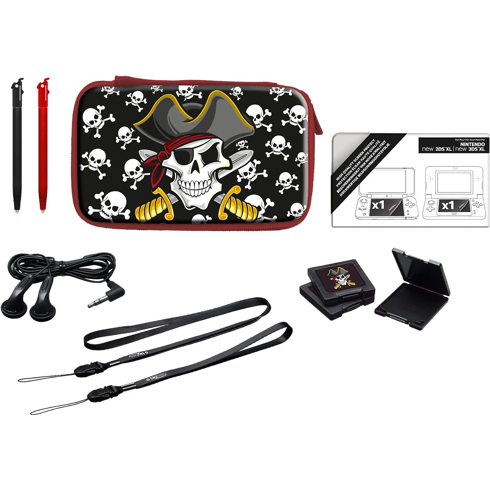 BigBen New 2DS XL Pack Essential XL Pirate