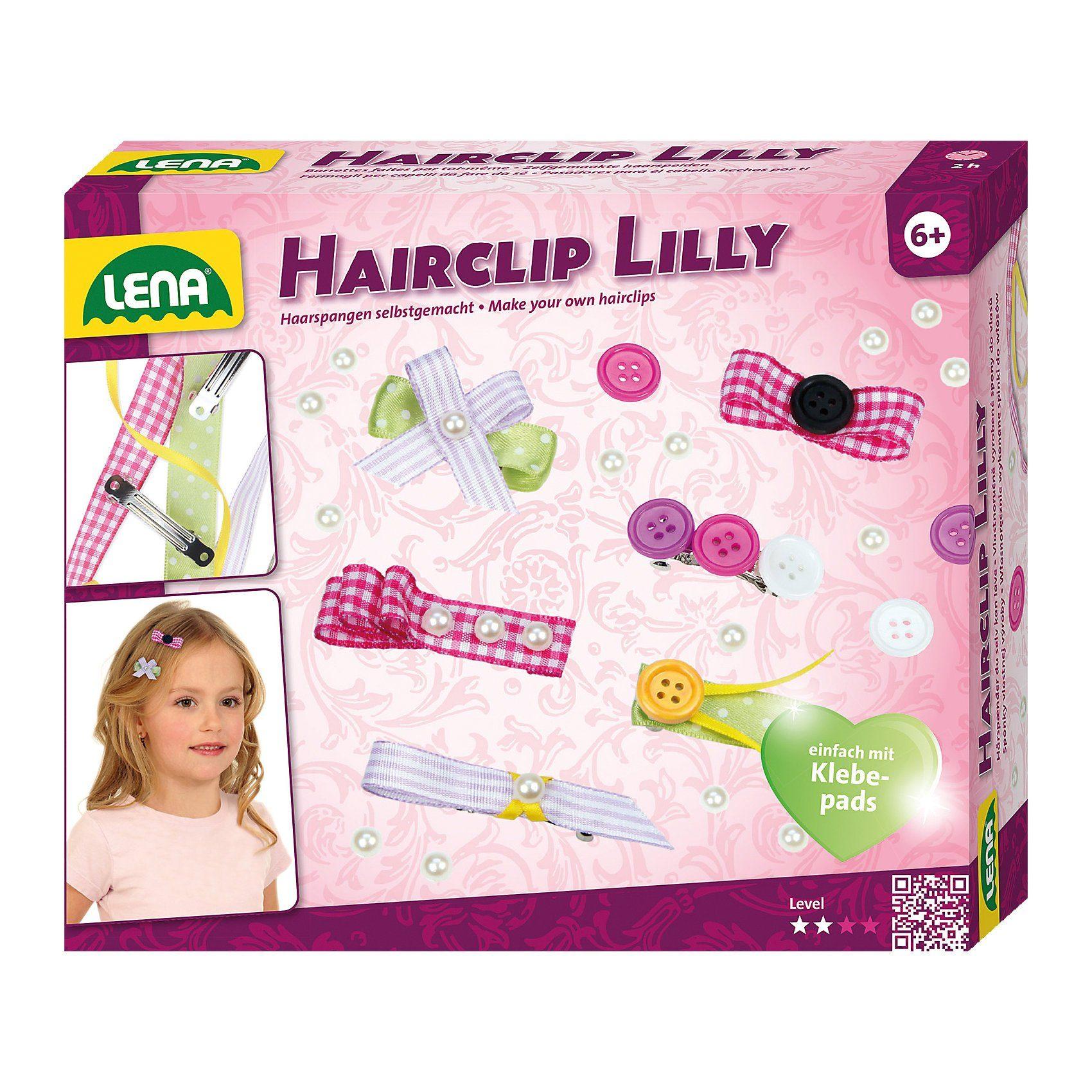 Lena® Hairclip Lilly Haarspangen zum Selbstgestalten
