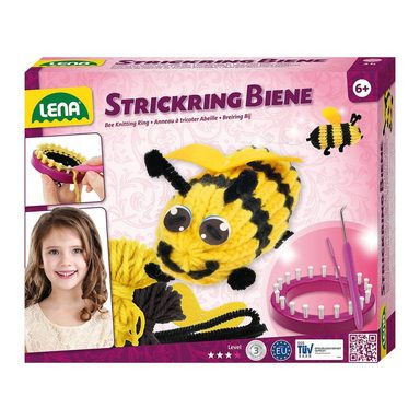 Lena® Strickring Biene