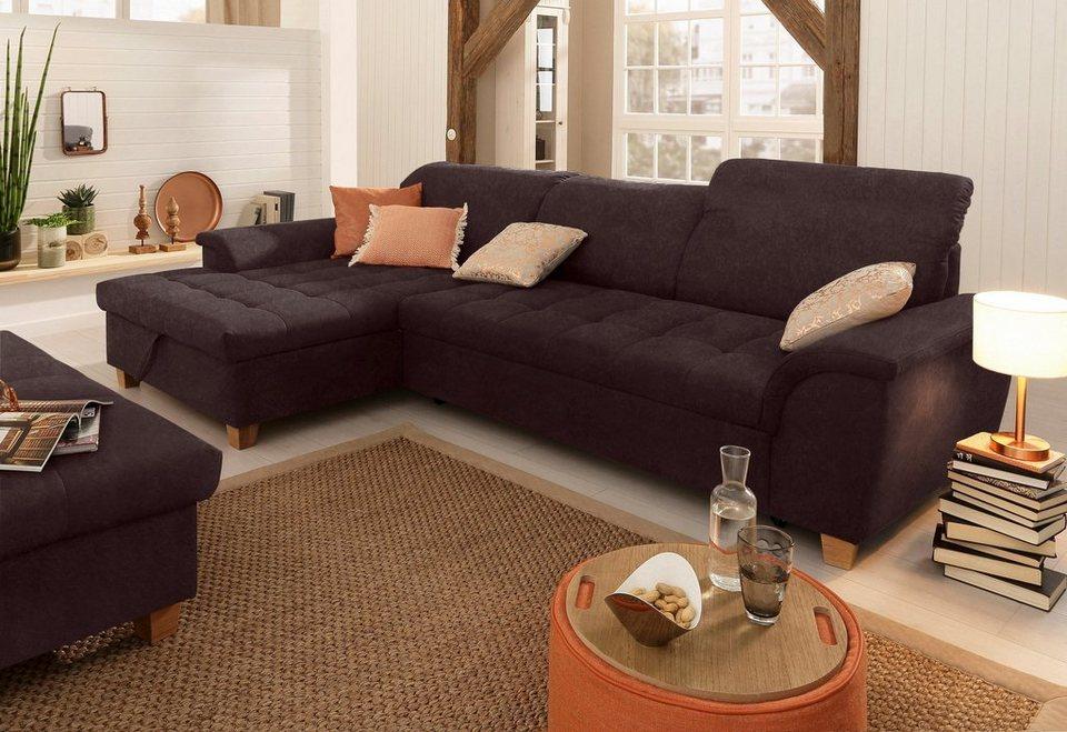 home affaire ecksofa lyla lyla mit recamiere. Black Bedroom Furniture Sets. Home Design Ideas