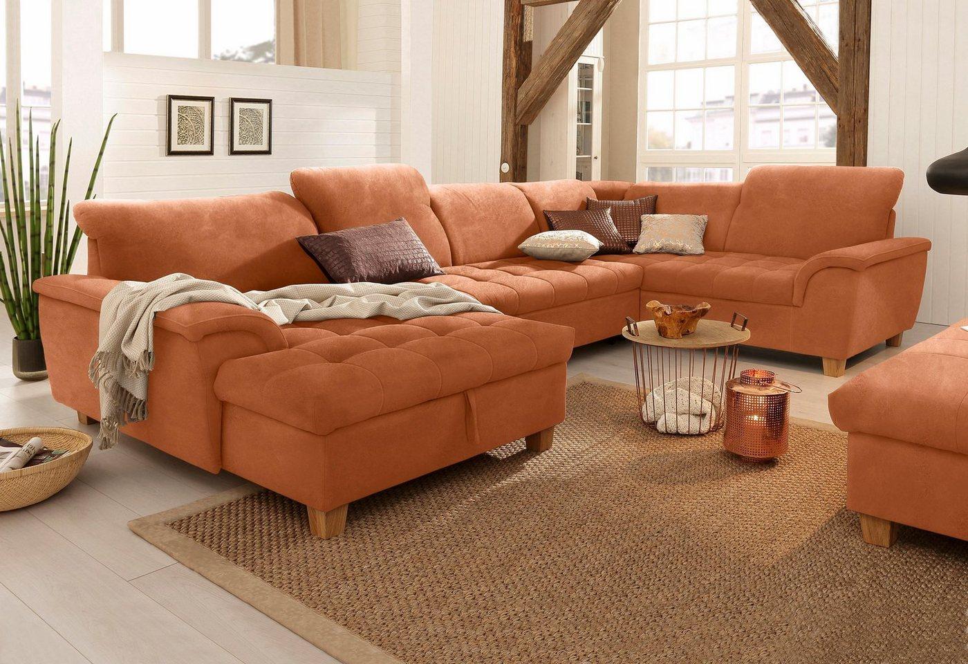 wohnlandschaft leder verstellbar machen sie den preisvergleich bei nextag. Black Bedroom Furniture Sets. Home Design Ideas