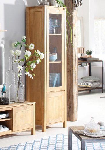 Home affaire Vitrine «Kubo», 2-türig, Höhe 180 cm, in zeitlosem Design