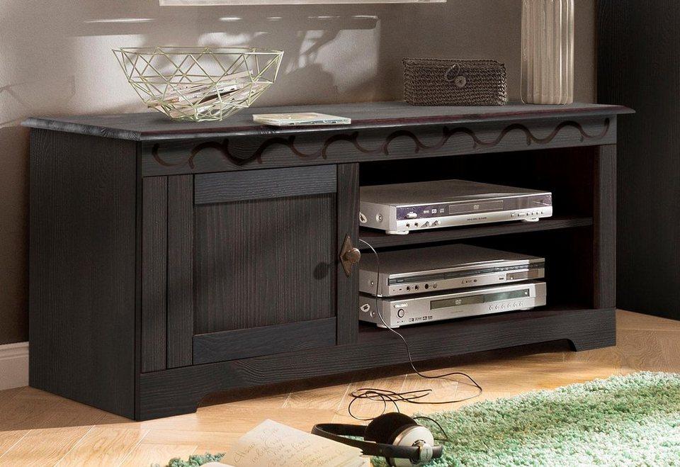 tv lowboard kolonial modernes tvlowboard emela cm edelmatt wei asteiche massiv with tv lowboard. Black Bedroom Furniture Sets. Home Design Ideas