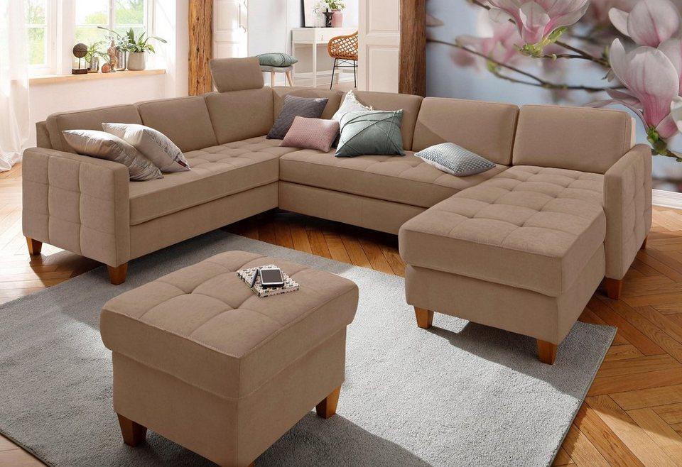 home affaire wohnlandschaft earl wahlweise auch mit. Black Bedroom Furniture Sets. Home Design Ideas