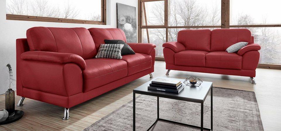 garnitur bestehend aus 2 und 3 sitzer individuell zu kombinieren online kaufen otto. Black Bedroom Furniture Sets. Home Design Ideas