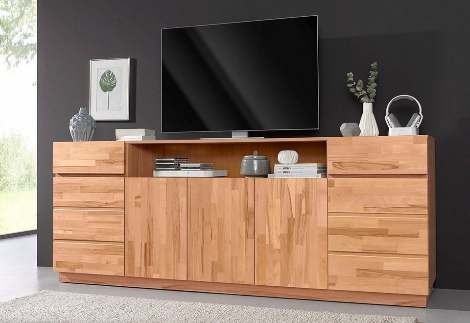 sideboard breite 220 cm mit 5 t ren online kaufen otto. Black Bedroom Furniture Sets. Home Design Ideas