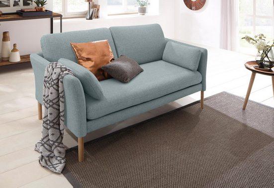 andas 2-Sitzer »Helsingborg«, in skandinavischem Design in 2 Bezugsqualitäten