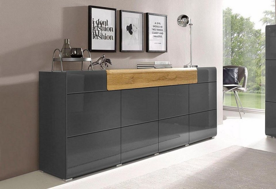 xxl sideboard toledo breite 208 cm kaufen otto. Black Bedroom Furniture Sets. Home Design Ideas