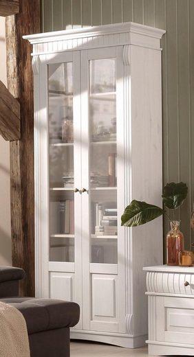 Home affaire Glasvitrine »Teresa« mit 2 Glastüren, Höhe 193 cm