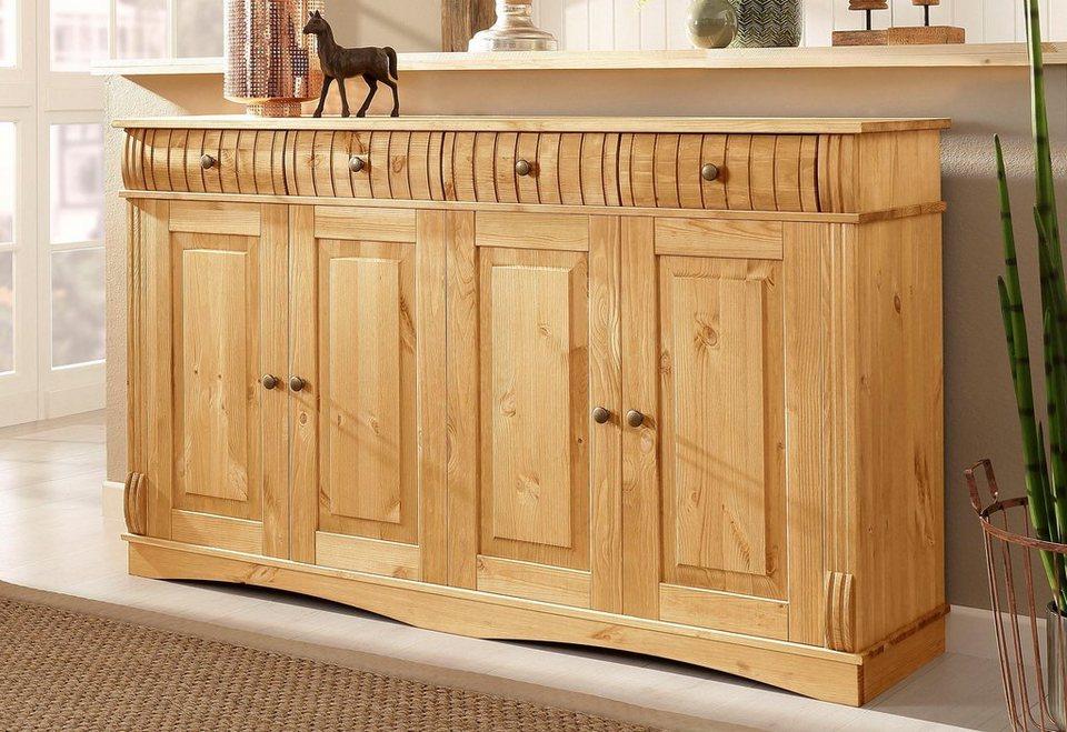 home affaire sideboard teresa 4 t rig breite 154 cm online kaufen otto. Black Bedroom Furniture Sets. Home Design Ideas