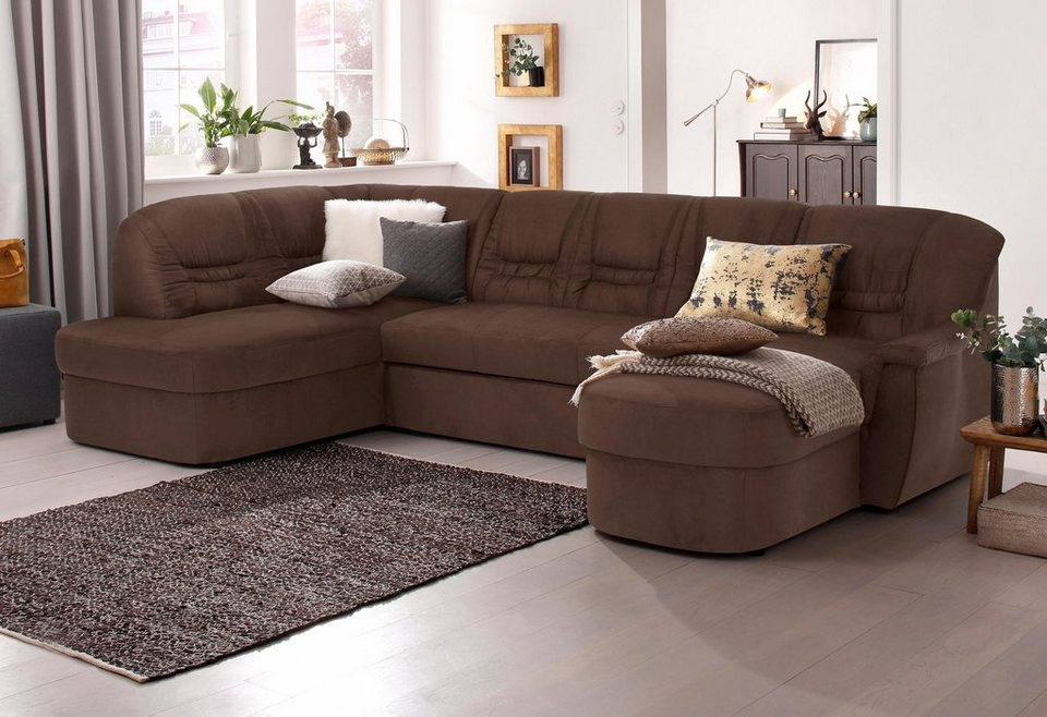 home affaire wohnlandschaft zoe wahlweise mit. Black Bedroom Furniture Sets. Home Design Ideas