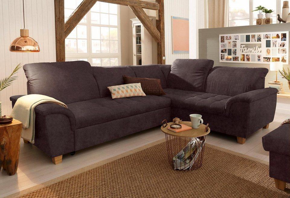 home affaire ecksofa lyla mit ottomane wahlweise mit. Black Bedroom Furniture Sets. Home Design Ideas