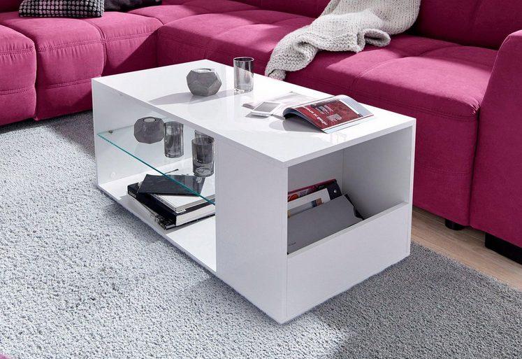 couchtisch mit fach und ablageboden online kaufen otto. Black Bedroom Furniture Sets. Home Design Ideas