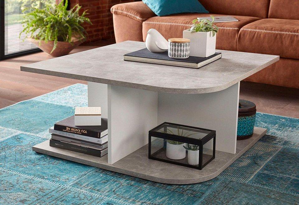 couchtisch quadratisch online kaufen otto. Black Bedroom Furniture Sets. Home Design Ideas