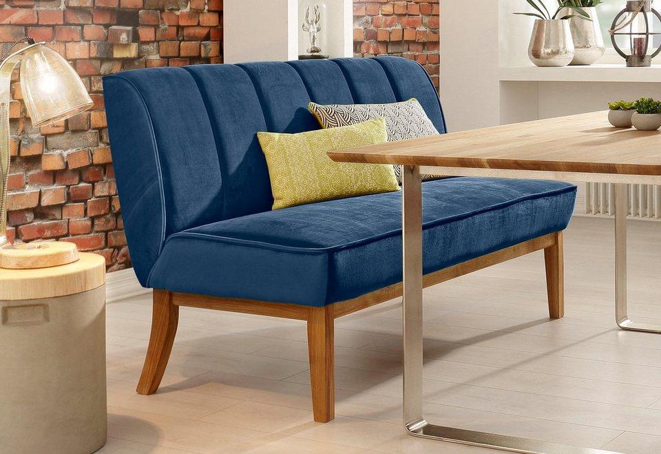 home affaire bank rom breite 145 cm bezug in toller samtoptik online kaufen otto. Black Bedroom Furniture Sets. Home Design Ideas