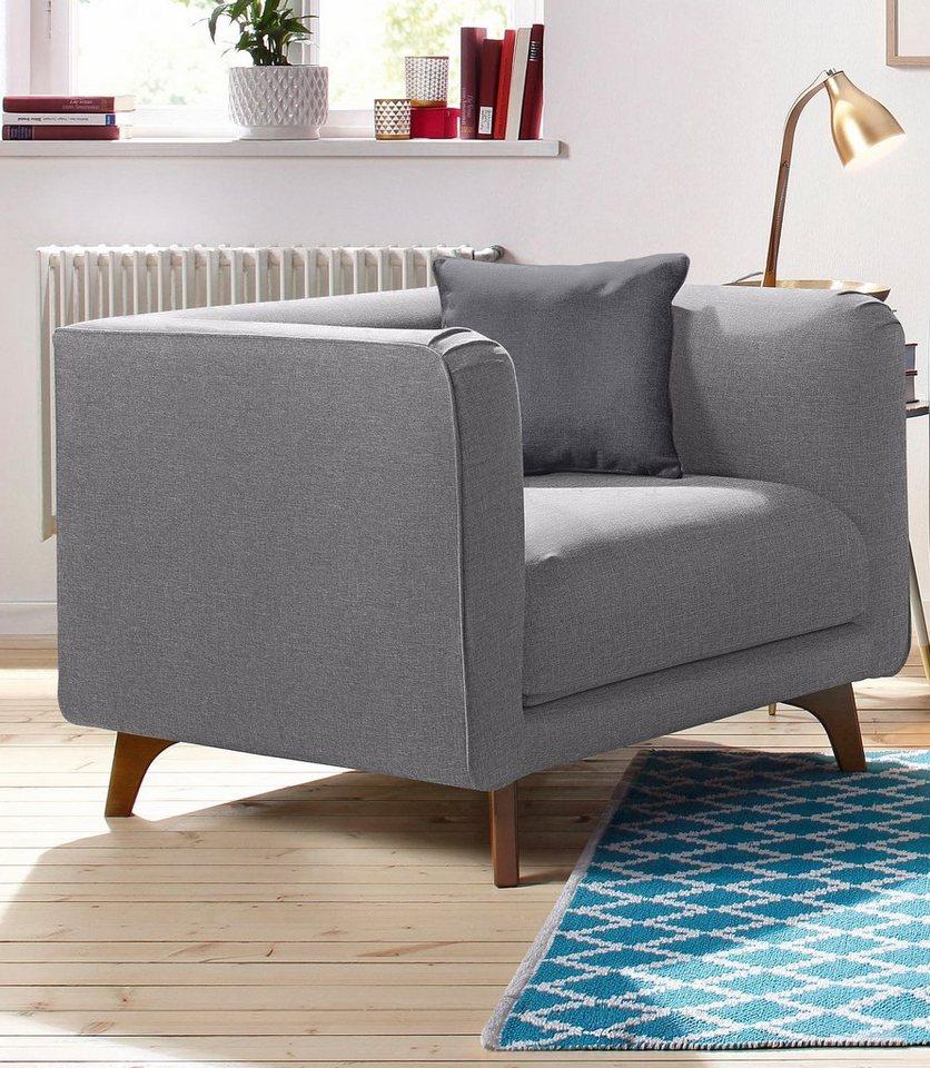 home affaire sessel maja mit zierkissen kaufen otto. Black Bedroom Furniture Sets. Home Design Ideas