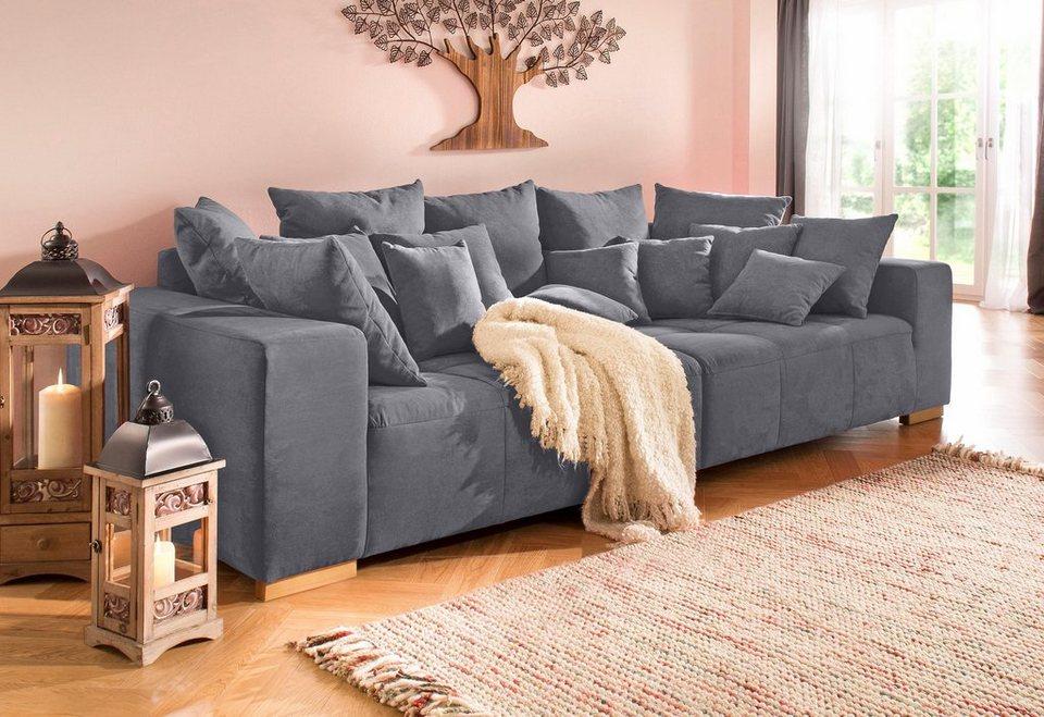 Home Affaire Big Sofa Neapel Mit Vielen Losen Kissen In 2