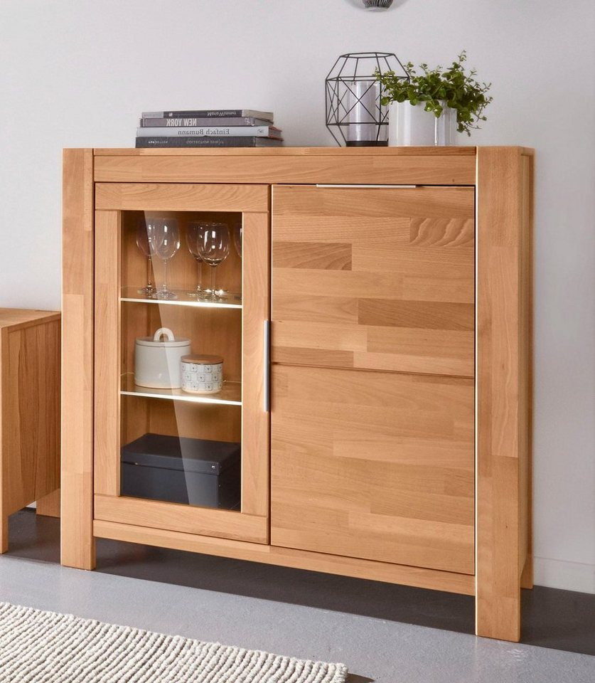 places of style vitrine nena h he 100 cm kaufen otto. Black Bedroom Furniture Sets. Home Design Ideas