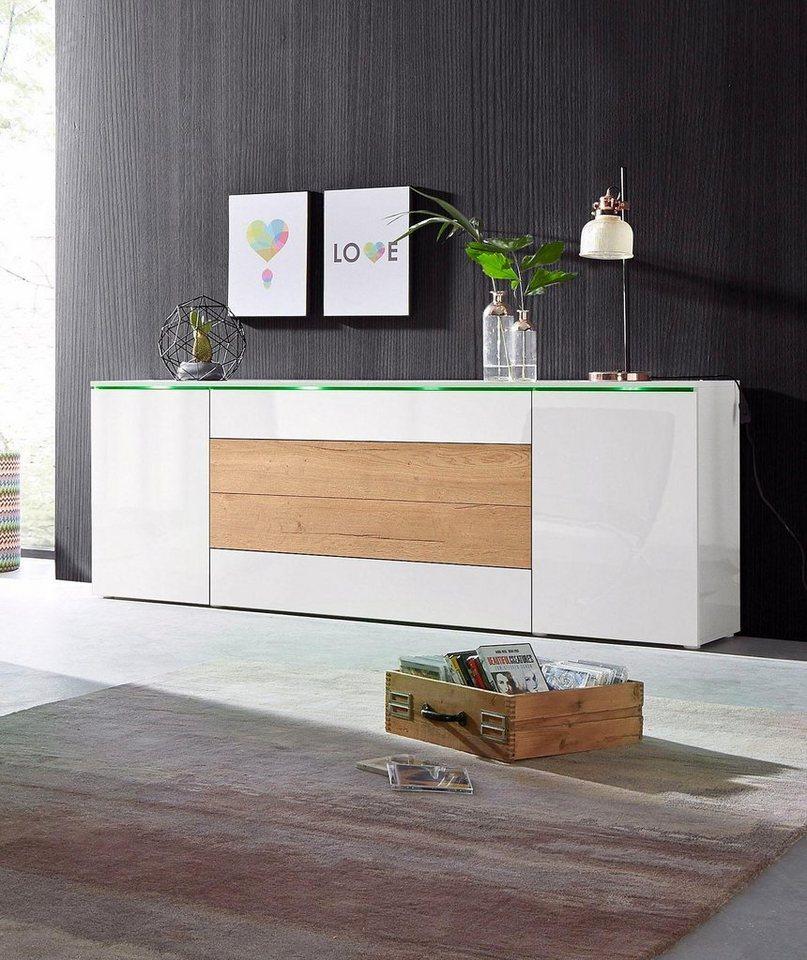Borchardt Mobel Xxl Sideboard Breite 200 Cm Otto