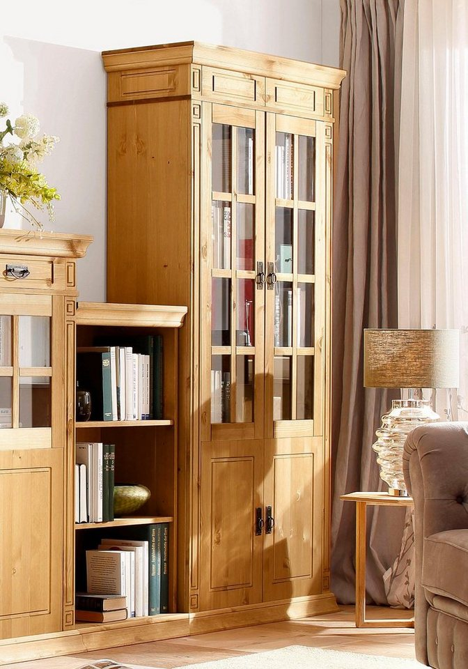 home affaire vitrine vinales h he 196 cm otto. Black Bedroom Furniture Sets. Home Design Ideas