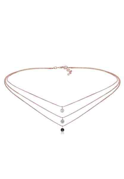Elli Halskette »Choker Swarovski® Kristalle 925 Sterling Silber«