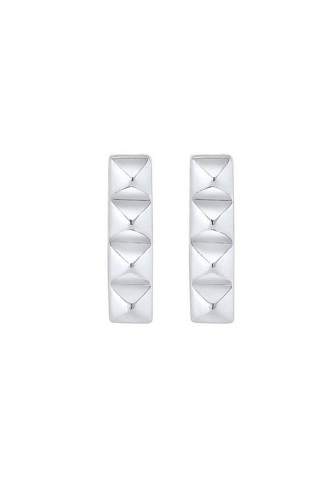 Elli Ohrringe »Rechteck Geo Basic Minimal 925 Sterling Silber S03«
