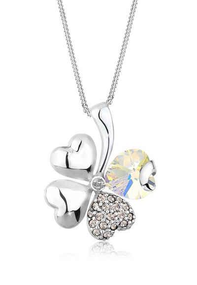 Elli Halskette »Kleeblatt Swarovski Kristalle 925 Sterling Silber« Sale Angebote Pinnow-Heideland