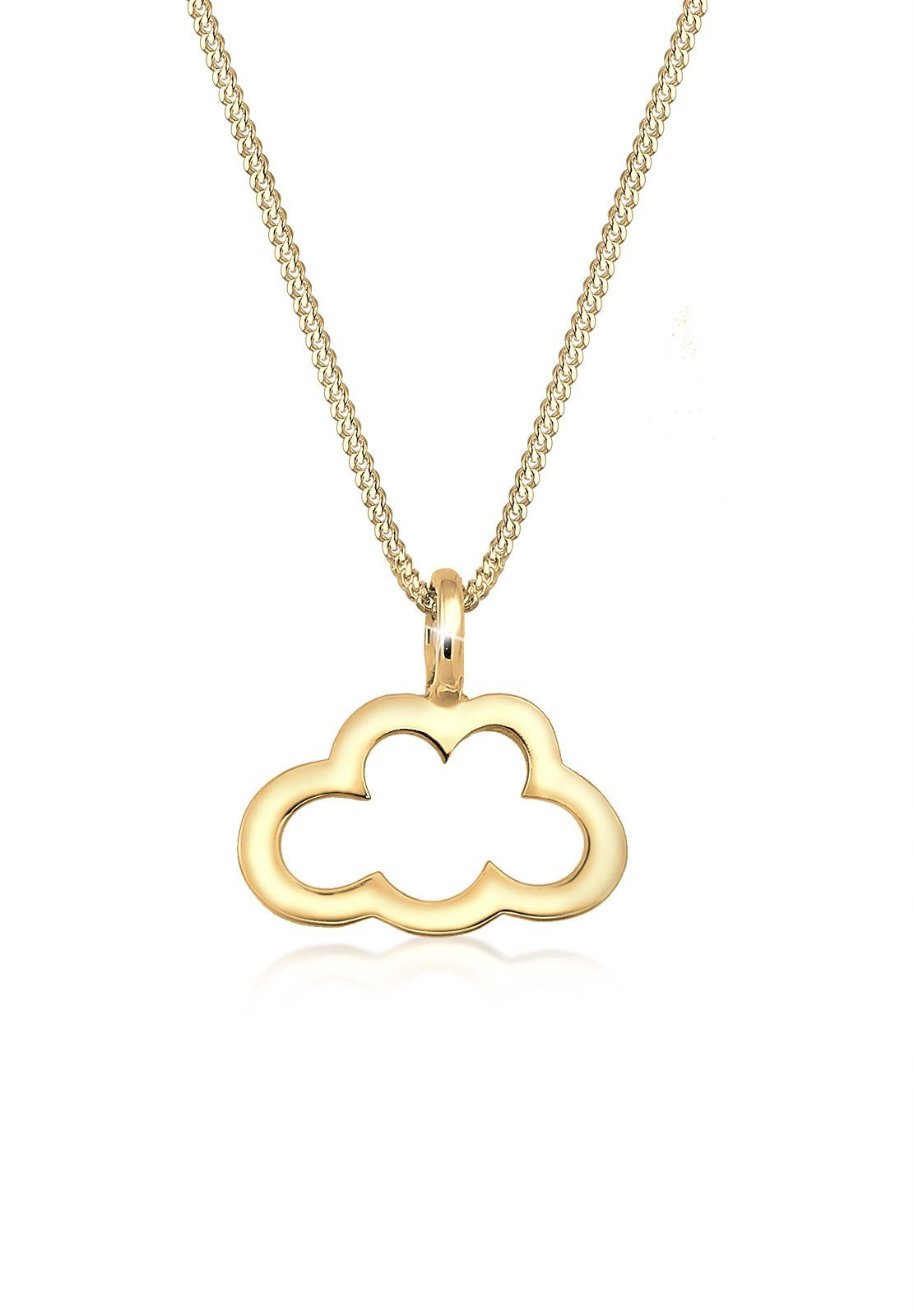 Elli Halskette »Wolke Cut Out Trend Icon 925 Sterling Silber«